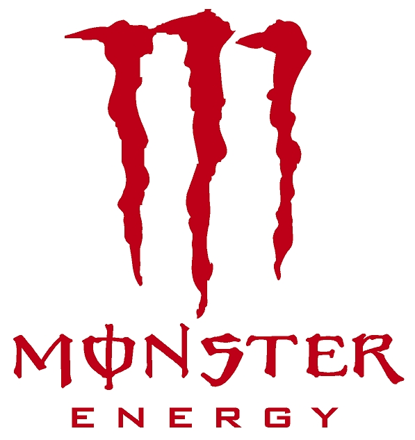 Monster Energy Drink Red